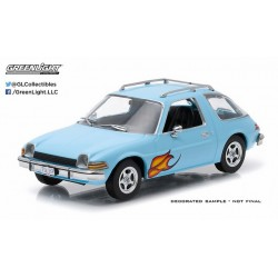 1977 AMC Pacer - Light Blue with Flames
