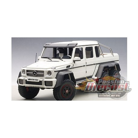 mercedes benz g63 amg 6x6 blanc matt passion diecast. Black Bedroom Furniture Sets. Home Design Ideas