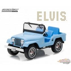 Elvis Presley - Jeep CJ-5 - Sierra Blue