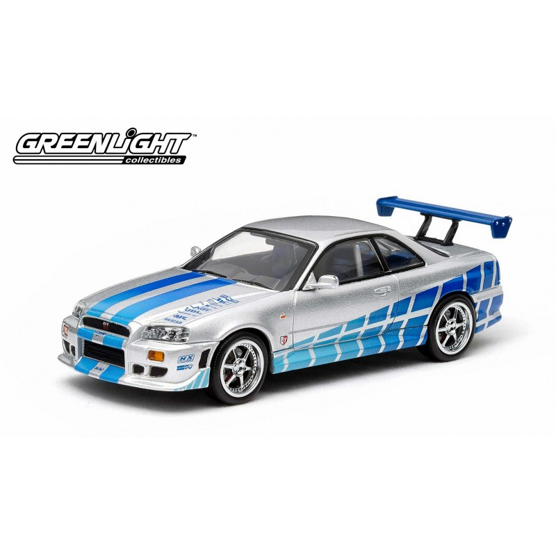 1999 nissan skyline gt r fast furious passion diecast. Black Bedroom Furniture Sets. Home Design Ideas