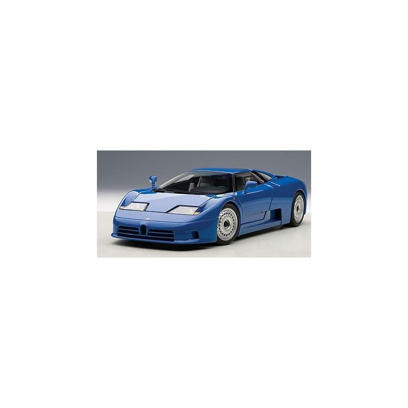 bugatti eb110 gt blue passion diecast. Black Bedroom Furniture Sets. Home Design Ideas