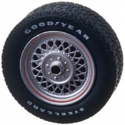 Five Spoke Low Profile Performance Wheel & Tire Set