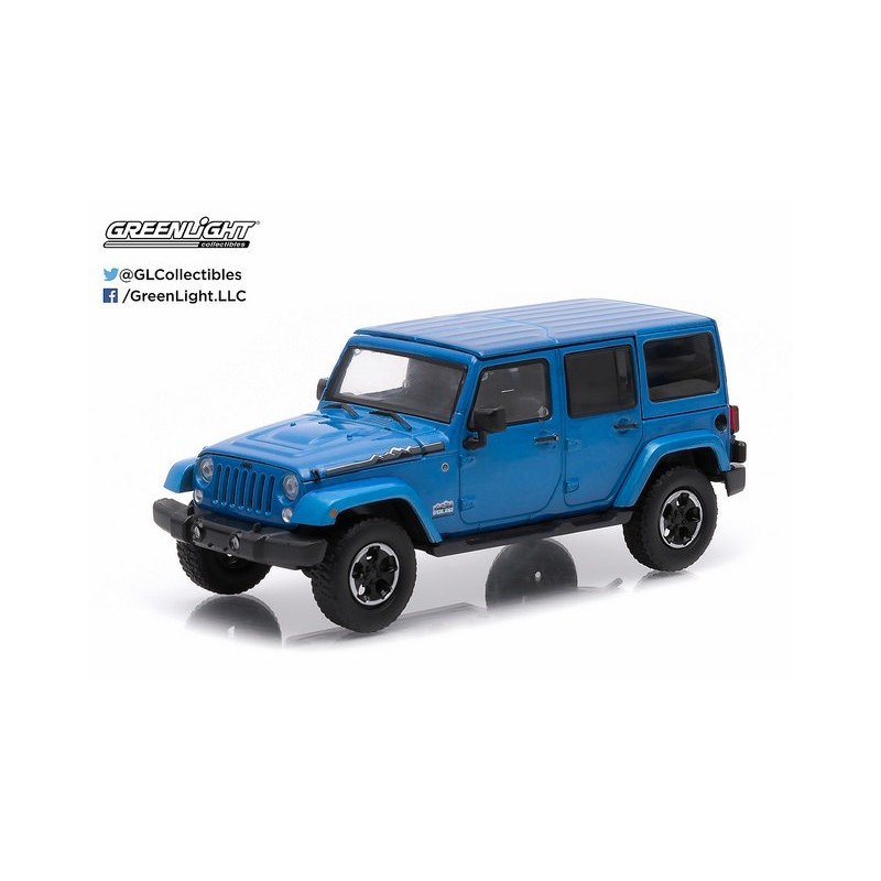 2014 jeep wrangler unlimited polar edition hydro blue passion diecast. Black Bedroom Furniture Sets. Home Design Ideas