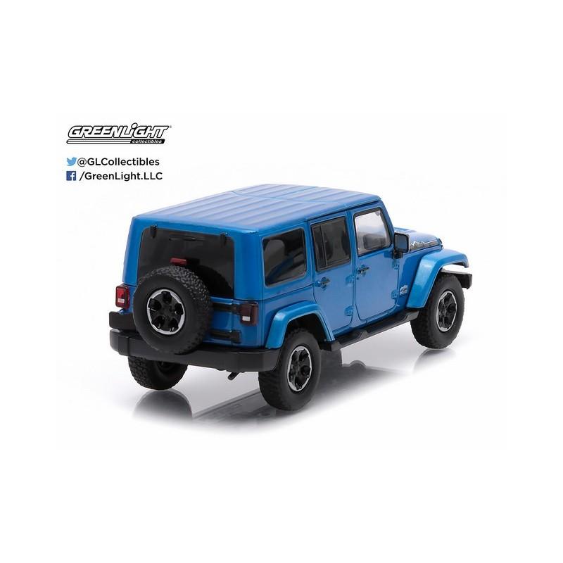 2014 Jeep Wrangler Unlimited Polar Edition Hydro Blue Passion