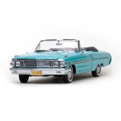 1964 FORD GALAXIE 500 XL OPEN CONV   BLEU