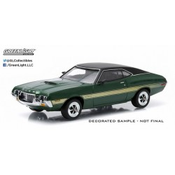 1972 Gran Torino Sport - Green with Yellow Stripes