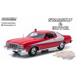1976 Ford Torino  Starsky Et Hutch Tv Series  Greenlight 1/18 19017 Passion Diecast