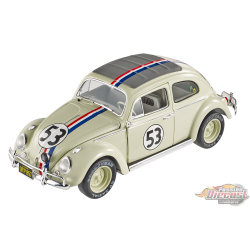 Volkswagen Beetle - Herby Goes To Monte Carlo - Hotwheels Elite 1/18 - BLY22 - Passion Diecast