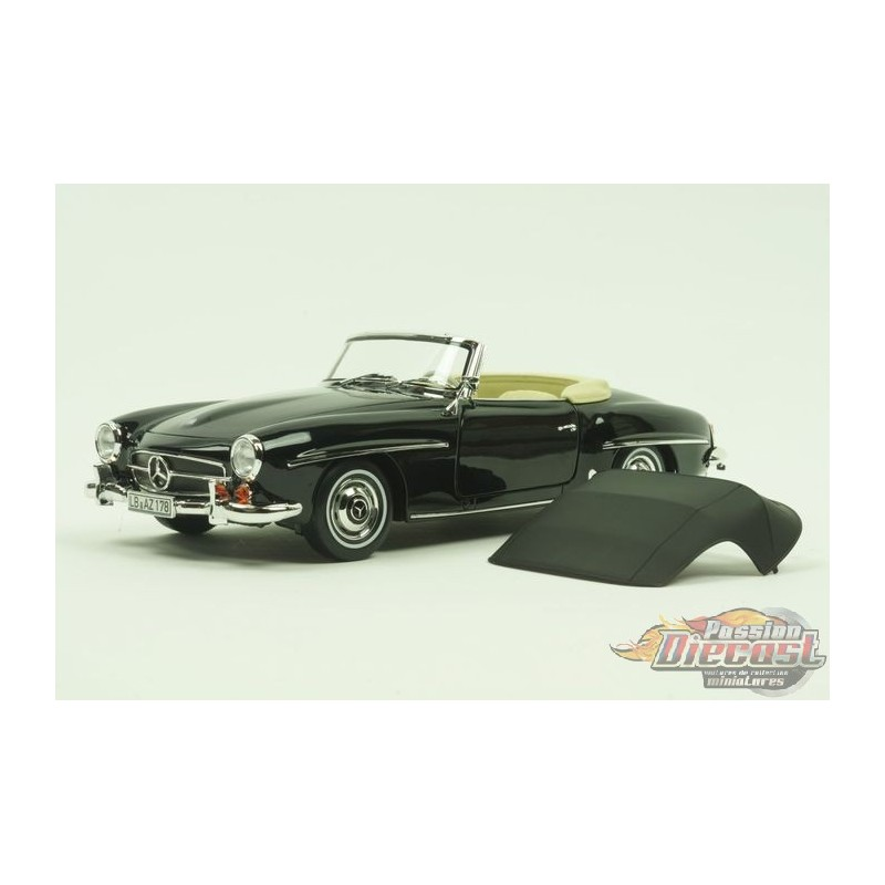 mercedes benz 190 sl 1957 noir passion diecast. Black Bedroom Furniture Sets. Home Design Ideas