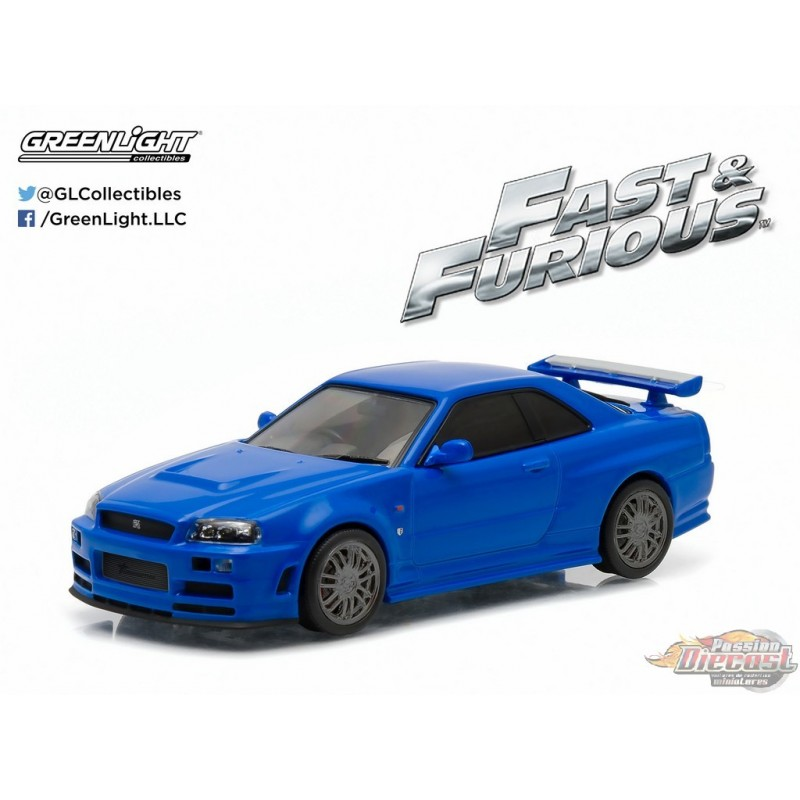 1:43 Fast & Furious Fast and Furious (2009) 2002 Nissan ...