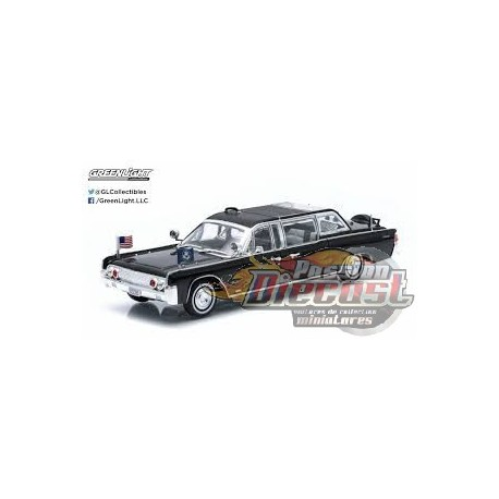 1961 lincoln continental ss 100 x john f kennedy passion diecast. Black Bedroom Furniture Sets. Home Design Ideas
