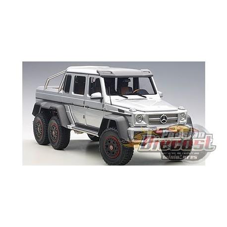 Mercedes benz g63 amg 6x6 silver passion diecast for Mercedes benz g36 amg 6x6 price