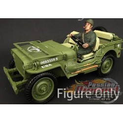 WW II  FIGURINE ARMY III 1/18