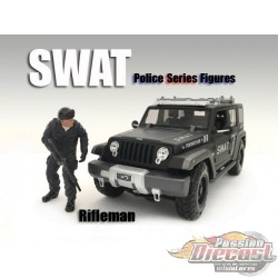 FIGURE SWAT TEAM FLASH  1/18