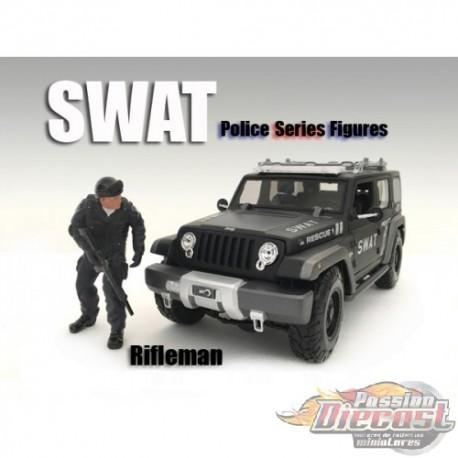 FIGURE SWAT TEAM FLASH  1/18