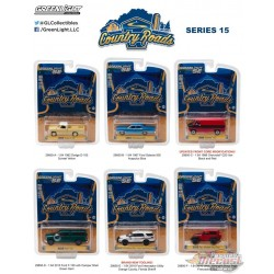 Country Roads Series 15 Assortiment Greenlight 1/64 29850 Passion Diecast