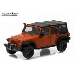 Jeep Wrangler Unlimited Custom - Copperhead Pearl
