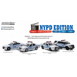Hollywood Film Reels Series 5 - NYPD Behind the Scenes Movie Set