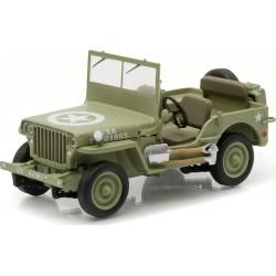 1944 Jeep C7 (Army Green, star on hood)