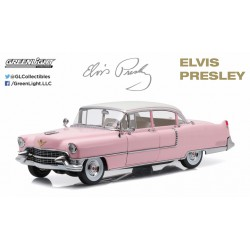 "1955 Cadillac Fleetwood Series 60 ""Pink Cadillac"" - Elvis Presley - Greenlight 1/64 - 44740 C - Passion Deicast"