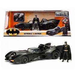1989 Batmobile with Diecast Batman Figure