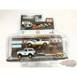 Hitch & Tow Series RACING 1966 FORD BRONCO 2015 FORD F150 GULF
