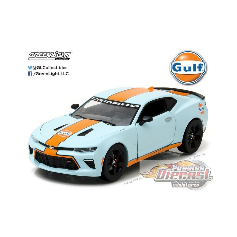 2017 chevrolet camaro ss gulf racing. Black Bedroom Furniture Sets. Home Design Ideas