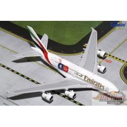Passion Diecast GEMINI 1/400 GJUAE1595 Emirate Airbus A380-800 FA CUP A6-EER