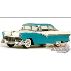 FORD FAIRLANE HARD TOP 1956 BLUE/WHITE