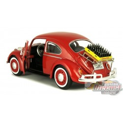1967 Volkswagen Beetle with rear Decklid Rack