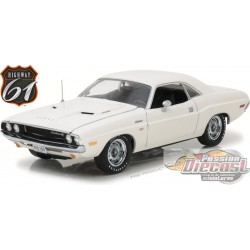 1:18 Highway 61 1970 Dodge Challenger R/T - BLANC