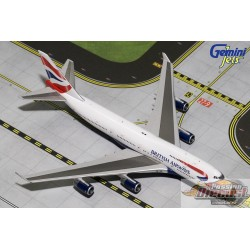 Passion Diecast Gemini Jets 1/400 GJBAW1593 British Airways Boeing 747-400 victoRIOus REG#G-CIVA