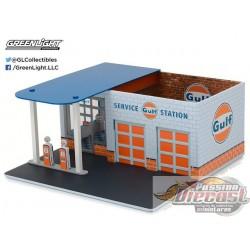 Mechanics Corner Series 1 - Vintage Gas Station Gulf Oil
