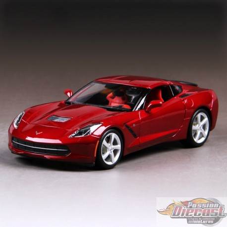 chevrolet corvette stingray z51 39 2014 rouge. Black Bedroom Furniture Sets. Home Design Ideas