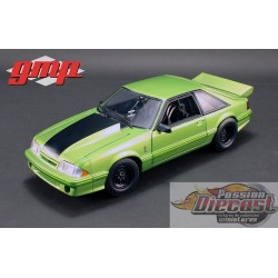 """1993 Ford Mustang Cobra """"King Snake""""  Nitro Green  1320 Drag Kings  GMP  1/18 : GMP-18888  Passion Diecast"""
