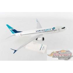 WESTJET  Boeing 737-MAX8   SKYMARKS 1/130 SKR919 Passion Diecast