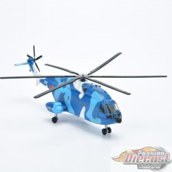 Changhe Z-8  PLANAF  Navy   Air Force 1:  1/144  AF1-0133A  Passion Diecast
