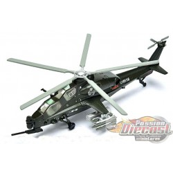 Z-10 Fierce Thunderbolt  Avicopter  Air Force 1:  1/100  AF1-0134  Passion Diecast