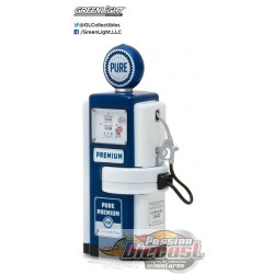 1/18 Vintage Gas Pumps Series 3 1948  100-A Gas Pump Pure Oil Pure Premium  14030-A GREENLIGHT  PASSION DIECAST