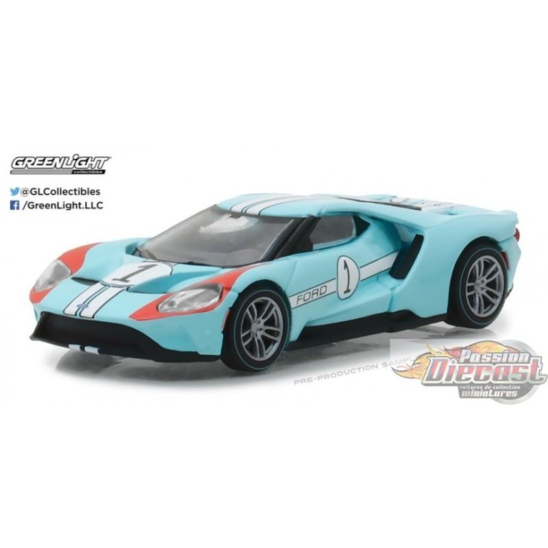 Greenlight Ford Gt Racing Heritage Series 1 2017 Ford Gt GT40 Mk Ii Tributo F