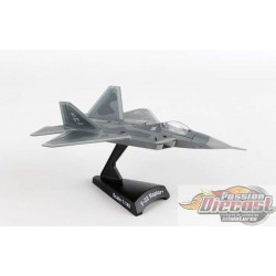 Lockheed Martin F-22 RAPTOR USAF  POSTAGE STAMP 1/145  PS5382-1   Passion Diecast