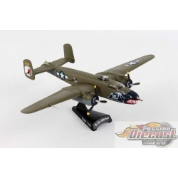 North American  B-25J MITCHELL   BETTY'S DREAM  POSTAGE STAMP 1/100 PS5403-3  Passion Diecast