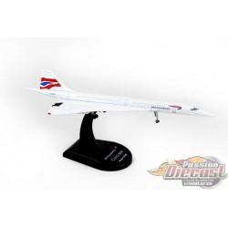BRITISH AIRWAYS CONCORDE  POSTAGE STAMP 1/350  PS5800-2  Passion Diecast