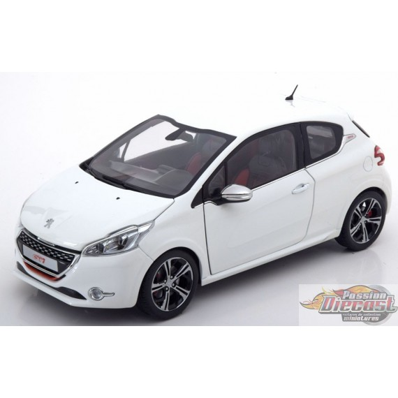 1/18 Peugeot 208 GTi 2013 - Blanc Pearl 184824 norev passion diecast