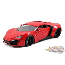 1/24 Fast & Furious 7 -Lykan Hypersport Rouge 97377 Jada Passion diecast