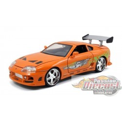 1/34 FAST & FURIOUS  TOYOTA SUPRA 1996 BRIAN ORANGE 97168 Jada Passion Diecast