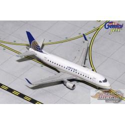 UNITED EXPRESS  ERJ170   REG# N637RW  Gemini Jets  1/400 GJUAL1253   Passion Diecast