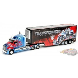 WESTERN STAR - 5700 OPTIMUS PRIME TRANSFORMERS 1:64 Jada Toys  JD-98193  Passion Diecast