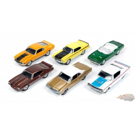 1:64 MUSCLE CARS USA RELEASE A JLMC001A johnny lightning passion diecast