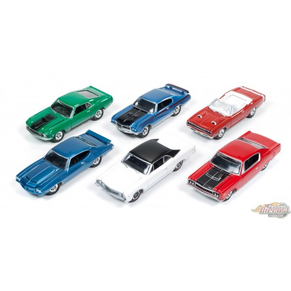 1:64 MUSCLE CARS USA RELEASE B JLMC001 Johnny Lightning Passion diecast